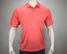 ADIDAS Golf Men's ClimaCool Diagonal Textured Polo Shirt Poppy Pink Size XXL