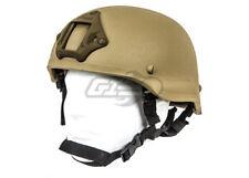 Lancer Tactical MICH 2002 Helmet w/ NVG Mount (Flat Dark Earth)  14429
