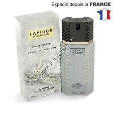 Parfum LAPIDUS de TED LAPIDUS pour Homme Eau de toilette 100 ml Neuf !!!
