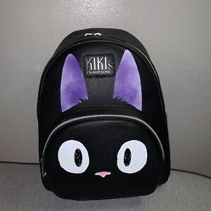 Studio Ghibli Loungefly Kiki's Delivery Service Jiji Face Mini Backpack Bag