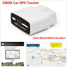 OBD2 Car GPS Tracker Locator Web Burglar Alarm System Real Time Tracking Device