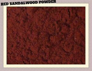 100 % Pure & Natural Red Sandalwood Powder + Red Sandalwood Stick 100 Grams