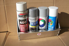 New CodyCo Aluminum 12 Can Aerosol Rack Holder Enclosed Pit Parts Heavy Duty
