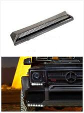 BRABUS Style FRONT UPPER BUMPER LIP Vent TRIM 13-Up Mercedes G-Wagon W463G550G63