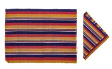 Colorful Handwoven Mat and Napkin Set - Sunset (Set of 6)