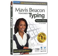 Avanquest Mavis Beacon Teaches Typing Platinum for Mac Mpl-dvd