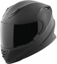 Speed Strength SS1310 Flat Black Street Sport Full Face Motorcycle Helmet
