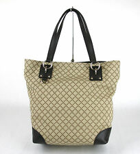 NEW Authentic GUCCI Diamante Canvas Tote BAG Handbag w/D Ring Detail 353706 9903