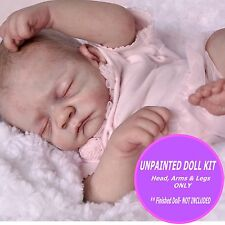 Reborn Doll Kit - Unpainted vinyl kit to make a baby -  Baby Ember vinyl kit