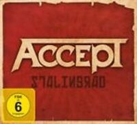 ACCEPT - STALINGRAD CD + DVD LIMITED EDITION+++++++++++++++++NEW