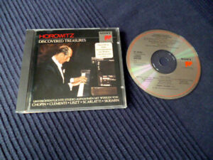 CD Vladimir Horowitz - Discovered Treasures (1962-1972) Chopin Liszt Skrjabin
