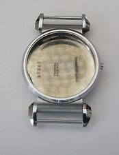 Landeron 48, one pusher chronographe case chrome, 33,9mm, NOS swiss made
