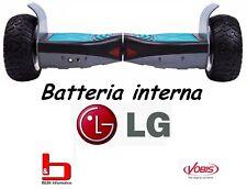 OVERBOARD VIVO HOVERBOARD OFFROAD BLACK M-VB80H LG Battery 4400 mAh ITA