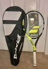 Brand New Strung Babolat Aero G Tennis Racquet - 4 3/8 With Bag 102286