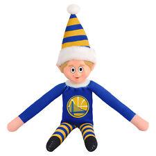 Golden State Warriors Plush Christmas Elf - NBA Doll On The Shelf Stuffed Toy