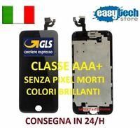 DISPLAY LCD TIANMA iPhone 6 Assemblato COMPLETO Fotocamera Frontale Cassa NERO
