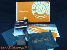Taurus TCP Pistol Cardboard Box, Gun Pouch, Access Pouch & Manual