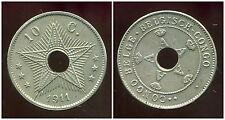 CONGO   BELGE   10 centimes 1911  (  belgisch )  ( bis )