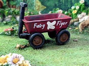 Fairy Flyer Wagon WS 2077 Miniature Fairy Garden