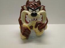 "Taz Tasmanian Devil WB Looney Tunes Gibson 12"" Ceramic Cookie Jar Whirlwind"