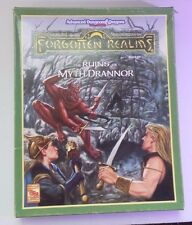 THE RUINS OF MYTH DRANNOR BOX SET DUNGEONS & DRAGONS AD&D 2ND EDITION TSR 1084