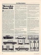 WIKING MODELL - CHRONIK MERCEDES-BENZ 200, von 1985