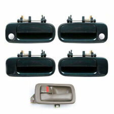 For 92-96 Toyota Camry DS414 1 Brown Inside & 4 GREEN 6M1 Outside Door Handle