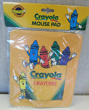 NEW! KIDS CHILD CRAYOLA CRAYONS COMPUTER MOUSE PAD BRIGHT COLORS