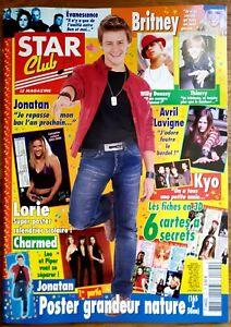 STAR CLUB N°191 (10/2003) : FICHES + POSTER JONATAN & LORIE [TTBE]