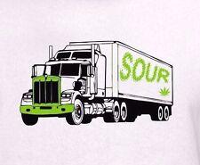 Sour Diesel Strain T Shirt Any Size! Cannabis Marijuana Weed Pot Leaf 420 Vape