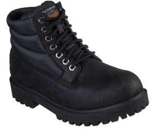 Skechers Men's Sergeants Verno [ Black ] Boots - 65838-BBK