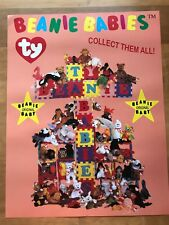 VERY RARE TY BEANIE BABIES BABY POSTER VHTF 22 x 17 ""