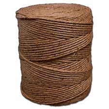 T.W. Evans Cordage Co. 13-210 - 2 Ply 28# Jute Twine 10 Lb Tube NEW