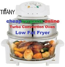 TIFFANY 17L CONVECTION OVEN HALOGEN LOW FAT FRYER ROASTER TURBO OIL FREE COOKER