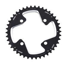 Platos y coronas negras BBB de aluminio para bicicletas