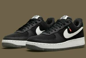 """AUTHENTIC Nike Air Force 1 '07 LV8 NN """"Toasty"""" Black White DC8871 001 Men size"""