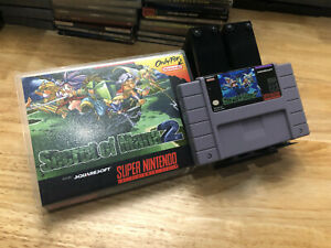 Secret of Mana 2 (SNES) Reproduction Cartridge and Case