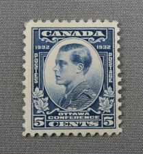 1932 Canada stamp collection #193 Prince of Wales Mint NG
