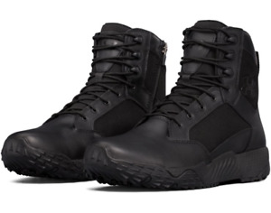 "Under Armour 1303129 Men's UA Stellar 8"" Tactical Side-Zip Duty Leather Boots"