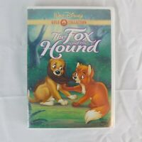 Walt Disney - The Fox and the Hound (DVD, 2000, Gold Collection) NEW w/ BV Stamp