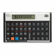 HP 12C Platinum Finance Calculator