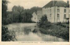 Carte SAINT FLORENTIN Moulin sur l'Armançon Panneau Moulin à vendre