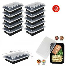 1 Compartment BPA-Free Reusable Meal Prep Containers Takeaway Food Storage Boxes