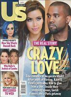 Us Weekly Magazine Kim Kardashian Kanye West Katy Perry Sandra Bullock Teen Mom