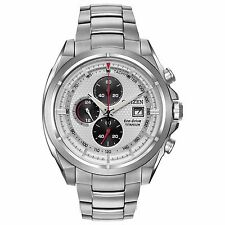 Citizen Eco-Drive Men's CA0550-87A Chronograph Titanium Sport 44mm Watch