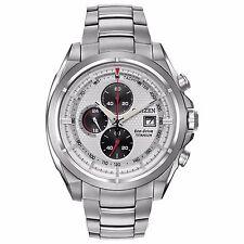 Citizen Eco-Drive Men's CA0550-87A Chronograph Titanium Sport 44mm Watch