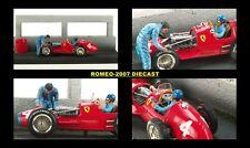 1:43 Microworld Ferrari F500 F2 Alberto Ascari Diorama 1952 EXTREMALY RARE NEW