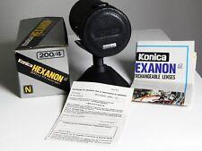 Konica Hexanon 200mm f.4,0 AR