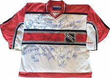 2001 NHL All Star Game Multi Signed Jersey 43 Auto Gretzky Lemieux Roy Hull JSA
