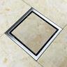 304 Edelstahl Duschrinne Bodenablauf Ablaufrinne Duschablauf Befliesbar 150mm